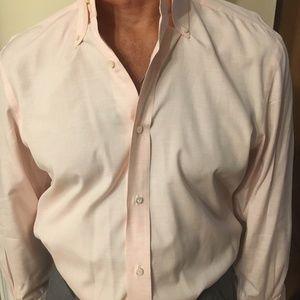 Light Pink Barba Men's Dress Shirt